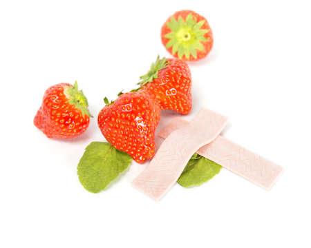 -Guma do żucia: Strawberry gumy do żucia