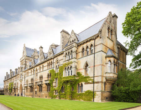 oxford: Famouse Christ Church College, Oxford, Oxfordshire UK