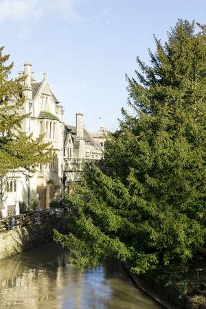 oxford: Magdalen Bridge and College, Oxford