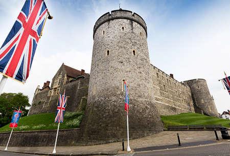 windsor castle tourist england united kingdom uk Stockfoto