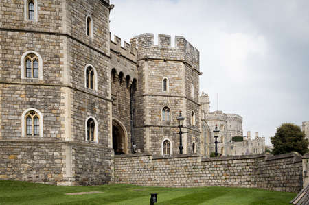 windsor: windsor castle tourist england united kingdom uk Stock Photo