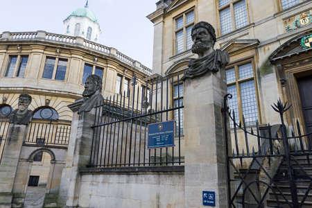 oxford: Sheldonian Theatre Oxford
