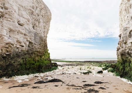 manche: Popular Botany Bay La Manche English channel coast, Kent, England, United Kingdom Stock Photo