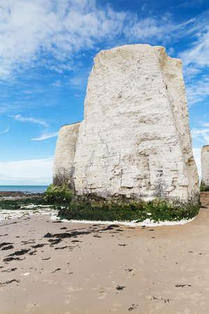 english channel: Popular Botany Bay La Manche English channel coast, Kent, England, United Kingdom Stock Photo