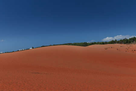ne: Red sand dunes in the Mui Ne village, Vietnam