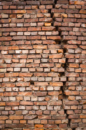Perfect for design rustic brick wall background Stock Photo