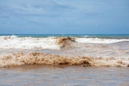 더러운 대양 해안