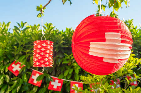 Swiss decoratie outdoor