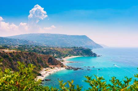 calabria: Capo Vaticano, Calabria, Italy. Grotticelle beach.