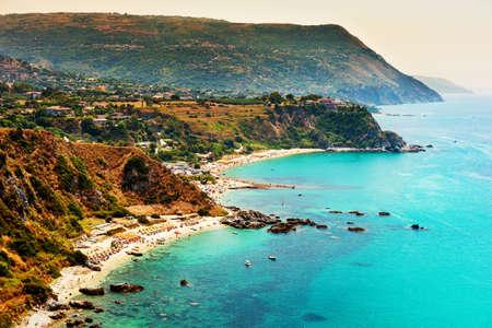 Capo Vaticano, Calabria, Italy. Grotticelle beach
