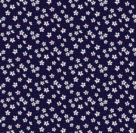 Nettes Blumenmuster.