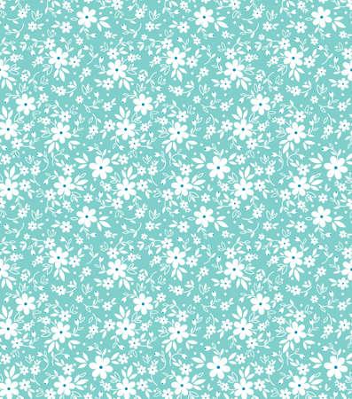 Motif floral mignon.