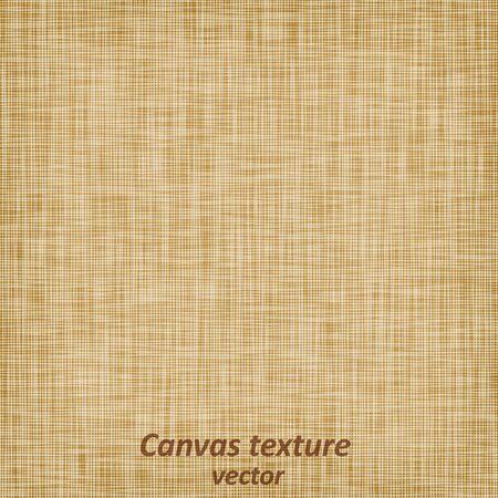 Fondo de textura de material textil de tela de lino de lino de tela de saco de arpillera, ilustración vectorial