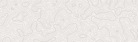 Topographic map patterns, topography line map. Vintage outdoors style Иллюстрация