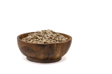 detoxing: Healthy lifestyle, healthy living snack of sunflower seeds