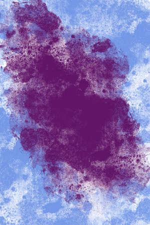 watercolor abstract background violet bubbles Reklamní fotografie