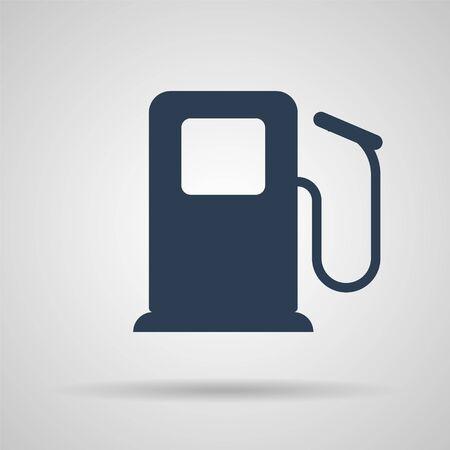 Fuel Icon, Perfect Black pictogram illustration - vector