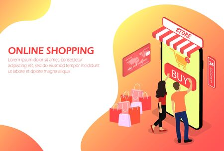 Online-Shopping, Online-Shop People