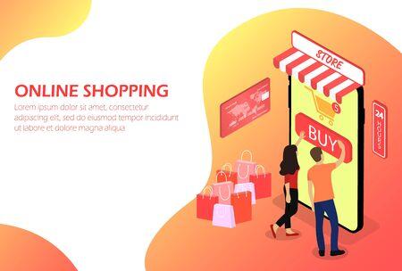 Zakupy online, sklep internetowy Ludzie