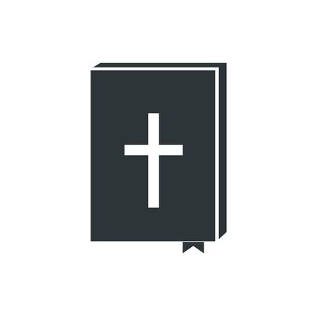 Bible icon, Holy scripture - vector