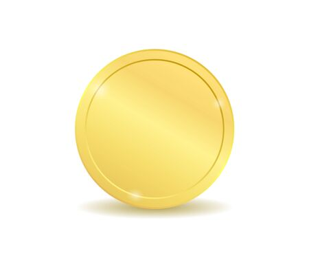 Realistic gold coin, Golden penny