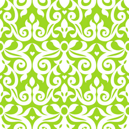 victorian wallpaper: Vector seamless pattern in Victorian style. Element for design. Ornamental backdrop. Lace background in bright modern colors. Ornate floral decor for wallpaper. Endless texture. Monochrome pattern fill. Illustration