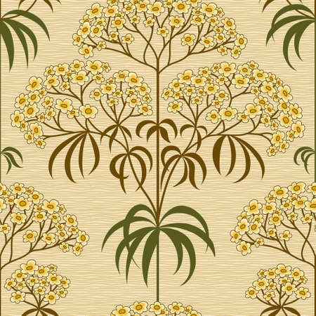 victorian wallpaper: Traditional floral pattern in retro style. Ornamental wallpaper. Background in Victorian style. It can be used for backdrop, pattern fills, web page background, surface textures, classic fabric. Illustration