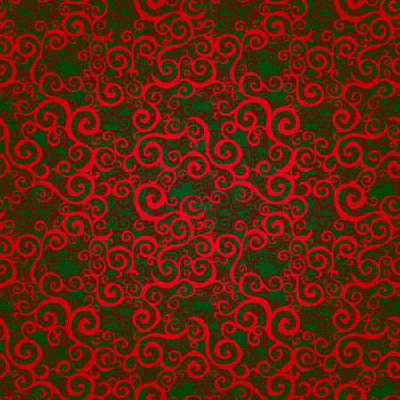 scroll work: Vector seamless pattern with swirls motifs in retro style  Bright scroll work background  Endless east style backdrop  It can be used for decorating of invitations, greeting cards, decoration for bags