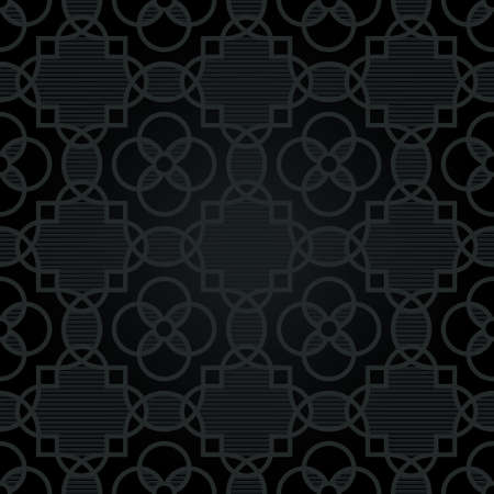strict: Traditional strict pattern with a geometrical ornament. Dark abstract background. Mens fashion. It can be used for wallpaper, pattern fills, web page background, surface textures.