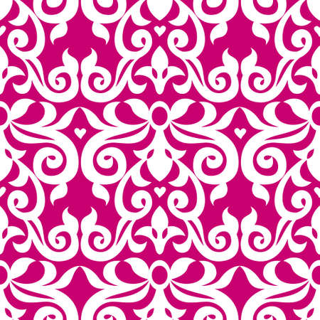 victorian wallpaper: Vector seamless pattern in Victorian style in modern colors. Element for design. Ornamental backdrop. Decorating of wallpaper, pattern fills, web page background, surface texture, classic fabric.