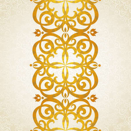 baroque frame: Vector seamless border in Victorian style. Element for design. Ornament endless pattern. It can be used for decorating of wedding invitations, greeting cards, decoration for bags and clothes.