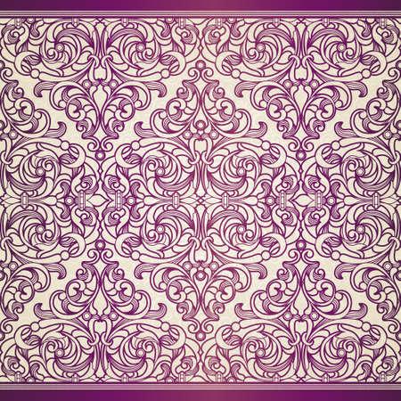 ビクトリア朝様式のシームレス パターン