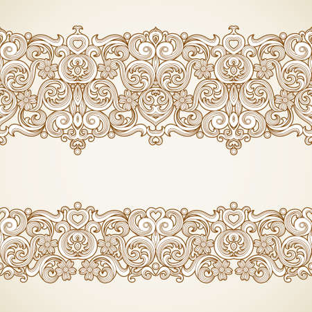 victorian style: vintage borders in Victorian style