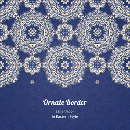 tracery: Ornamental floral pattern, light tracery for wedding invitations, greeting cards