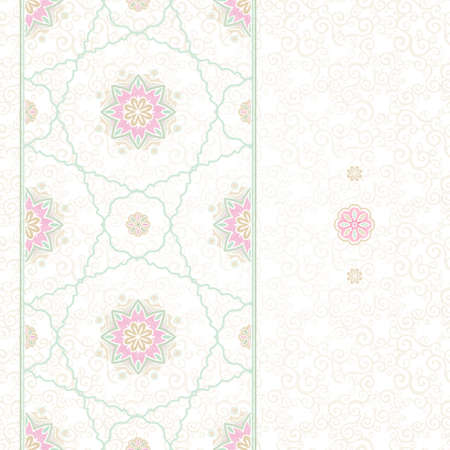 tracery: Ornamental floral pattern, pastel tracery for wedding invitations, greeting cards