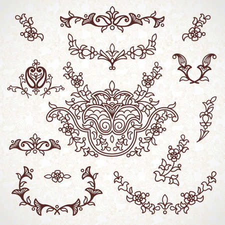bells: Ornamental lace patterns for wedding invitations and greeting cards