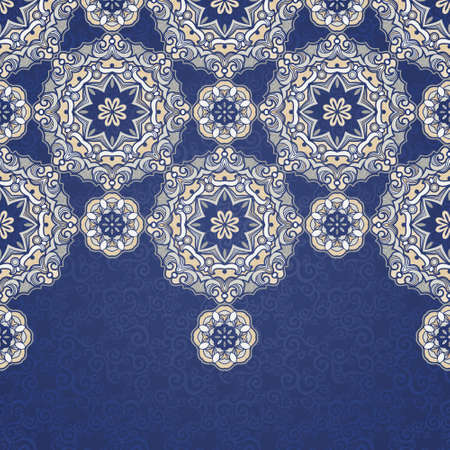 Ornamental floral pattern, light tracery for wedding invitations, greeting cards