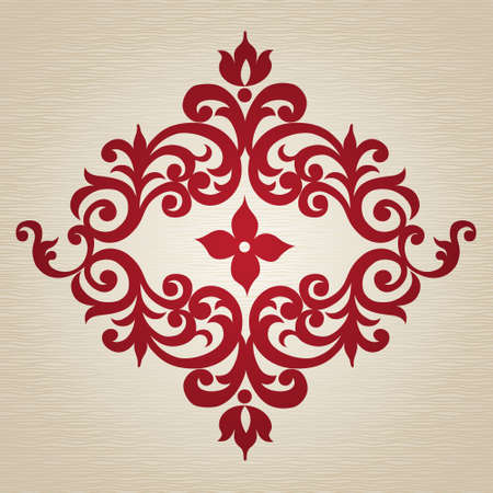 swirl pattern: Vector baroque ornament in Victorian style. Ornate element for design. Toolkit for designer. It can be used for decorating of wedding invitations, greeting cards, decoration for bags and clothes. Illustration