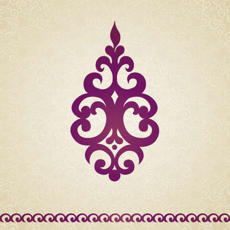 designs: Vector baroque ornament in Victorian style. Ornate element for design. Toolkit for designer. It can be used for decorating of wedding invitations, greeting cards, decoration for bags and clothes. Illustration