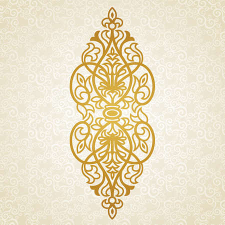pattern antique: Vector baroque ornament in Victorian style. Ornate element for design. Toolkit for designer. It can be used for decorating of wedding invitations, greeting cards, decoration for bags and clothes. Illustration