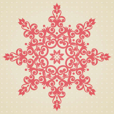 Vector baroque ornament in Victorian style. Element for design. It can be used for decorating of wedding invitations, greeting cards, decoration for bags and clothes, at tattoo creation.