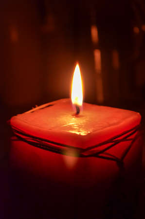 candle with light