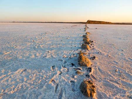 Salt lake Фото со стока