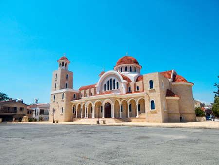 saint nicolas: Ancient street to beautiful mosque, North Cyprus