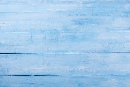 Blue wooden background with high resolution. Top view Copy space