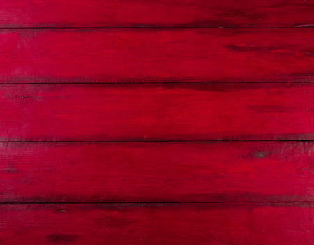Red wooden background with high resolution. Top view Copy space Stock Photo