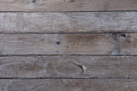 Old grey wooden background with high resolution. Top view Copy space