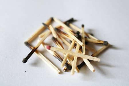 A bunch of burnt Reklamní fotografie