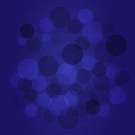 blue circles: transparent circles on blue background
