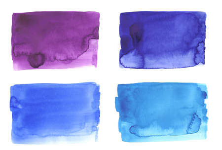 Blue watercolor abstract backgrounds painting texture